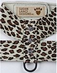 Crystal Paw Print Series Harnesses