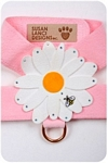 Puppy Pink Daisy (Large) Harnesses